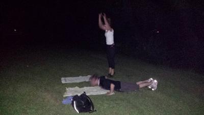 night-workout