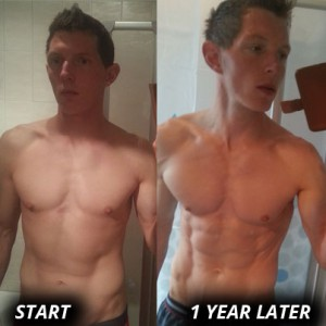 Freeletics Erfahrung: Transformation von Christian