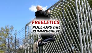 Freeletics: Pull-Ups mit Klimmzughilfe oder Gummiband – Kraftaufbau