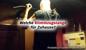 Freeletics : Klimmzugstange für Zuhause – Mein Pull-Ups Favorit