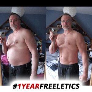 """Freeletics Transformation über 1 Jahr : Olivers """"Jahresabschlußbericht"""""""