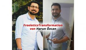 Freeletics Transformation von Harun Özcan: Ausdauer wird belohnt!
