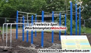 Freeletics-Spot: München Korbinianplatz